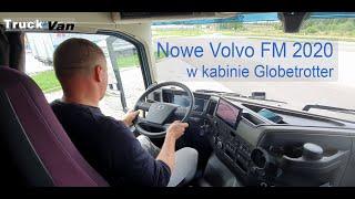 Nowe Volvo FM - wnętrze kabiny Globetrotter, prawie jak w FH. D11 380 KM I-Shift VDS New Volvo FM