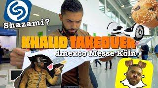 Khalid Bounouar randaliert auf Messe! Bist auch ein Shazami?