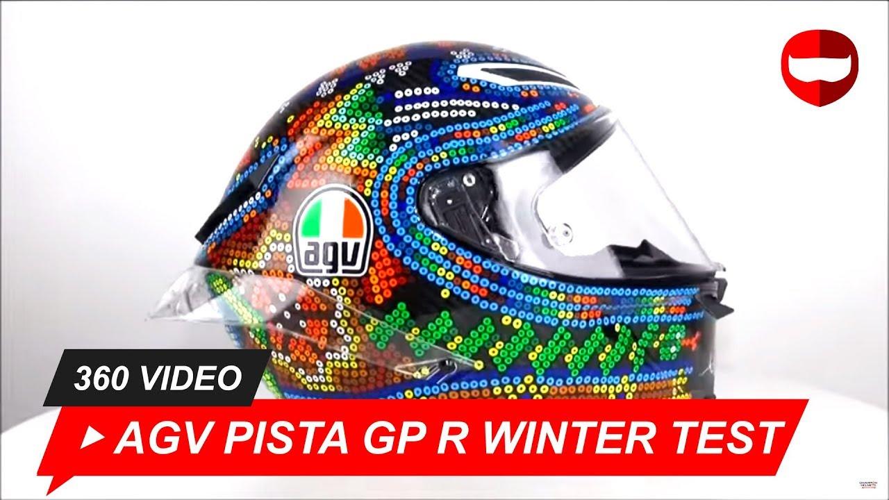 0a4e1977 AGV Pista GP R Winter Test 2018 Valentino Rossi Helmet Unboxing -  ChampionHelmets.com