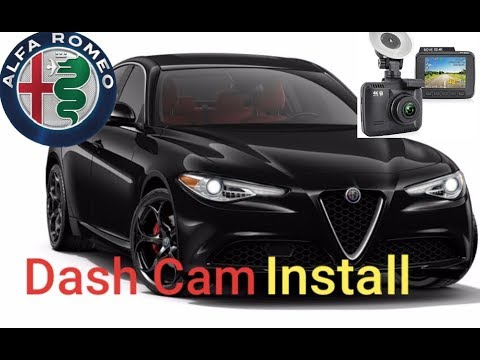 Hardwiring a Dash Camera on the 2020 Alfa Romeo Giulia Ti Sport