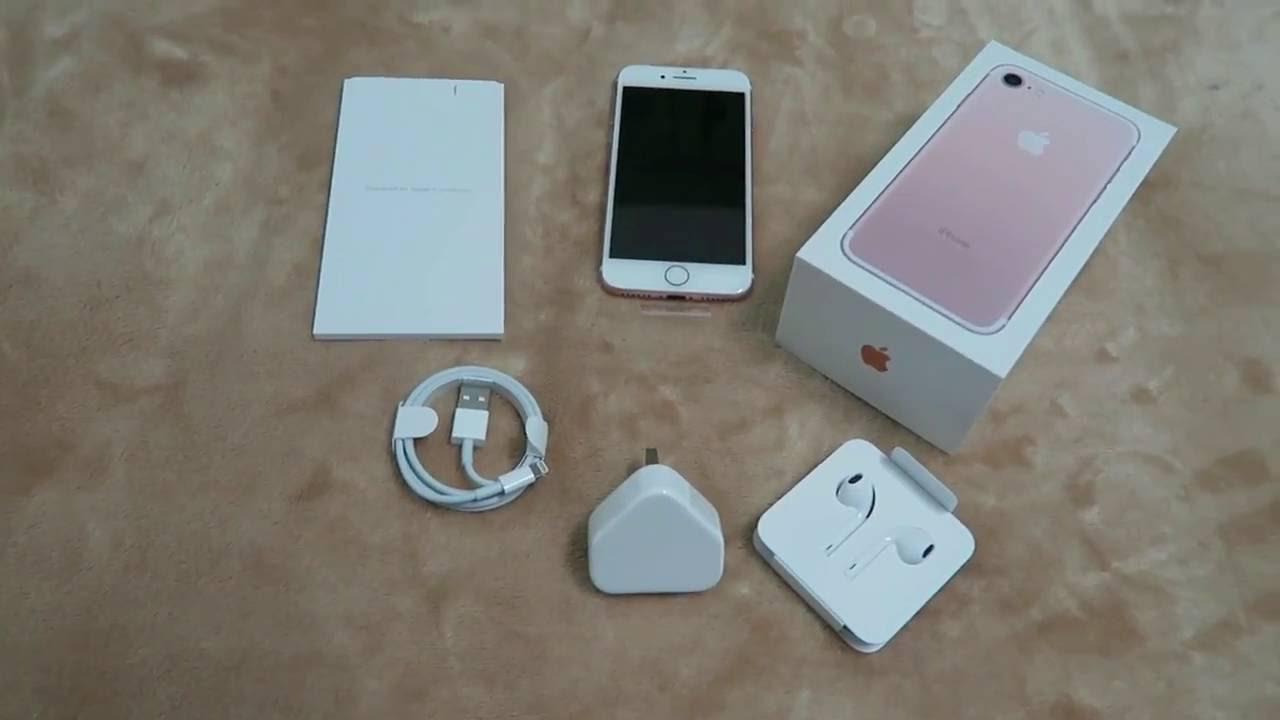 Unboxing Iphone 7 Dubai - Preview