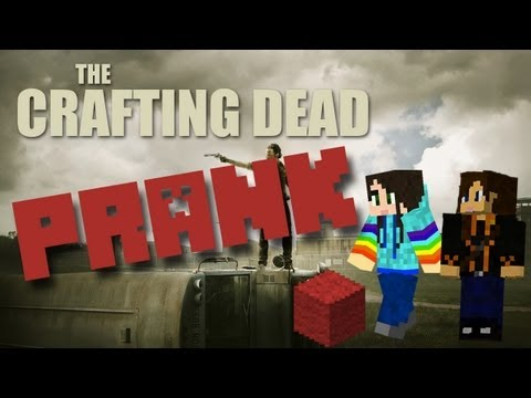 THE RED BLOCK PRANK! - STACYPLAYS THE CRAFTING DEAD