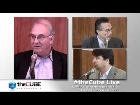 The Cube - HP Moonshot - Richard Fichera