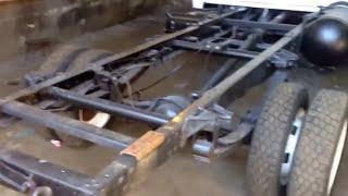 Ремонт и удлинение рам грузовых автомобилей