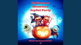 Halloween Monsters Joyful Party