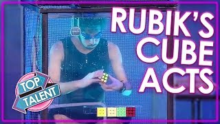 MIND BLOWING Rubik's Cube Auditions On Got Talent | Top Talent