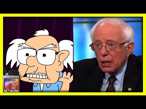 Cartoon Hilariously Scorches Bernie Sanders' Incoherent Ideology, DERAILS His ENTIRE Socialist Train