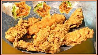 KFC Style Zinger Paratha Roll Recipe - Chicken Paratha Roll Recipe - Zinger Paratha Roll Recipe