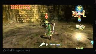 "Legend of Zelda Twilight Princess Walkthrough 21 (2/8) ""Cave of Ordeals: Floors 1-10"""