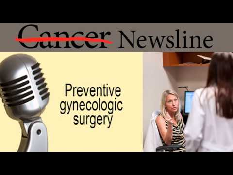 Preventive gynecologic surgery an option for women with BRCA mutations