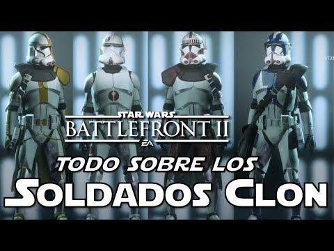 Star Wars Battlefront 2 Todo sobre los Soldados Clon, Correcciones, Oficiales con Armadura y Gestos thumbnail