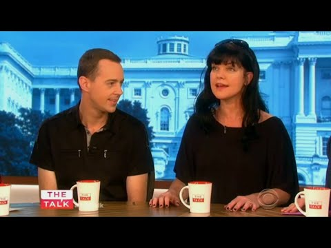 Pauley Perrette and Sean Murray on The Talk Sep 24th, 2015