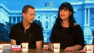 Pauley Perrette and Sean Murray on The Talk (Sep 24th, 2015)