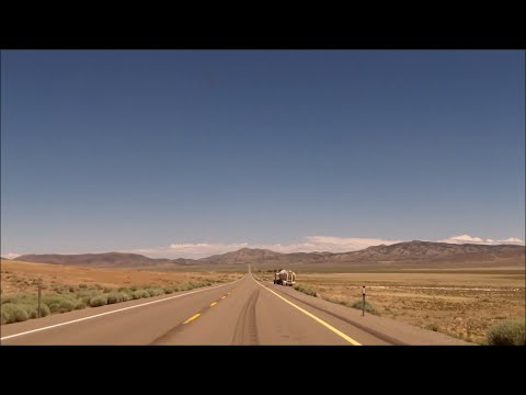 "US 50 in Nevada: ""The Loneliest Road in America"""