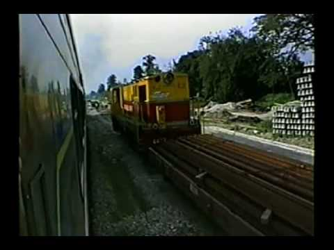 Video 250, Around the World Part 19,  Kuala Lumpur to Singapore, 27  Nov  1992