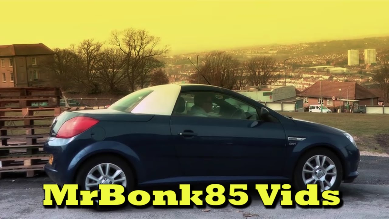 Vauxhall Tigra Automatic Roof Opening Youtube