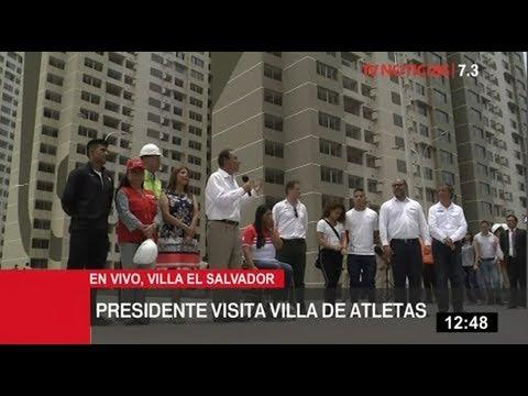 Presidente Vizcarra: Villa Panamericana es digna de deportistas de élite