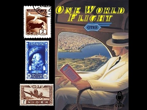 One World Flight - India, Shanghai and Other Far Eastern Cities