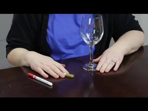 How To Decorate Wine Glasses With Paint Markers Craft Projects