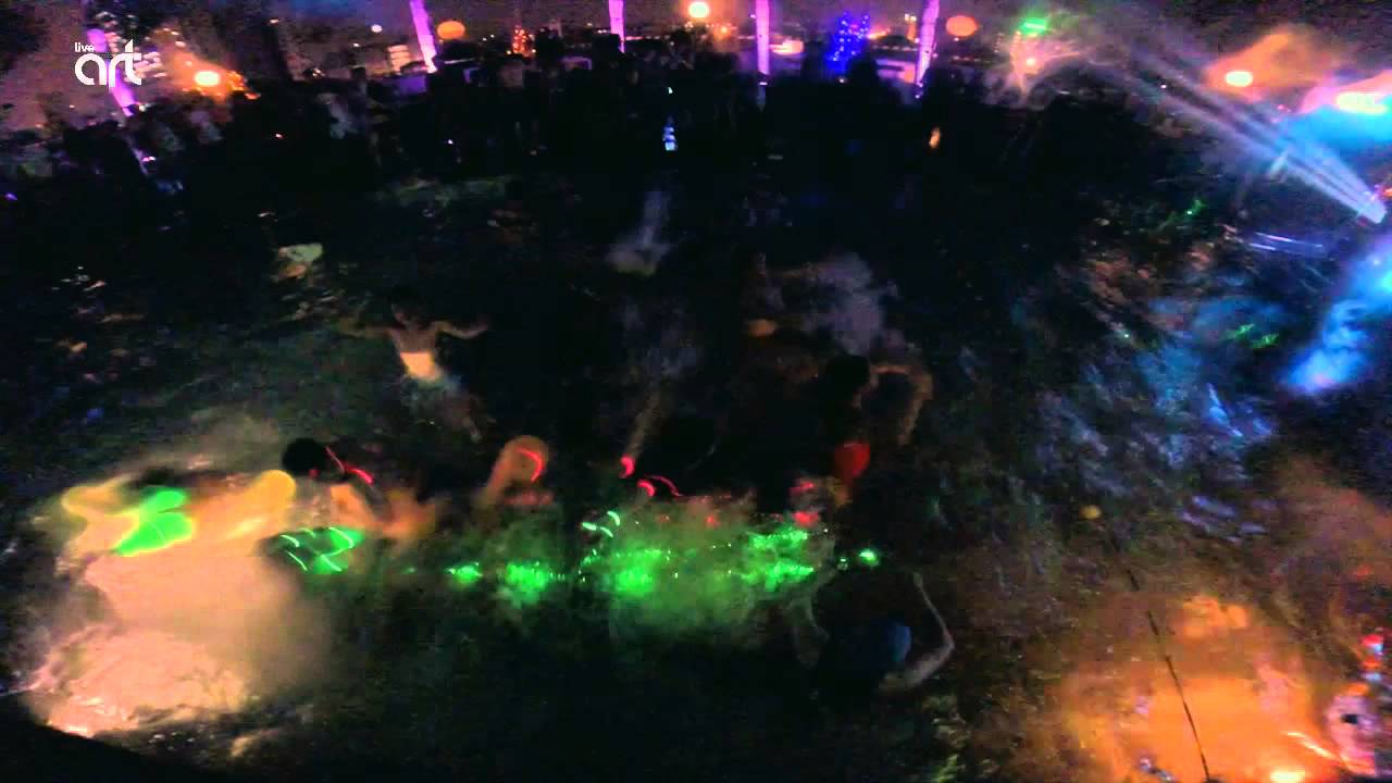 Halloween Pool Party Aftermovie Art Live Youtube