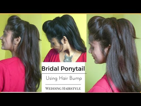 easy-wedding-messy-ponytail-hairstyle-using-bumps|-quick-volumized-hair-tutorial-for-brides