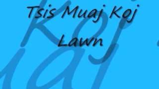 Tee Vang - Tsis Muaj Koj Lawm