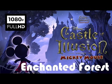 Castle of Illusion Starring Mickey Mouse HD PART 1 - Disney Cartoon Game For Kids