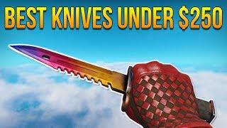 CSGO - Best Knives Under $250 (2017)