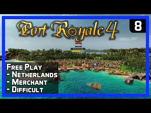 How To Get More Captain Tactics! - Port Royale 4 - Sandbox Ep 8