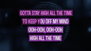 Habits (Stay High) Karaoke Version by Tove Lo (Video with Lyrics) Mp3