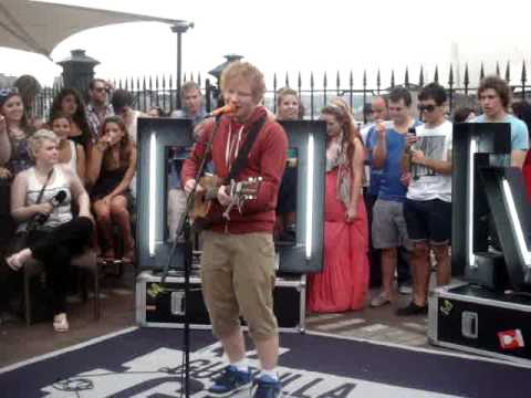 Grade 8 Ed Sheeran- Channel V Guerrilla Gig