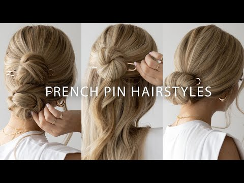 4 EASY Ways to use a French Pin 🌸