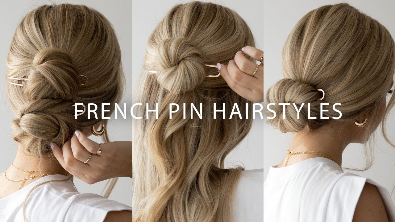 4 EASY Ways to use a French Pin 🌸 - YouTube