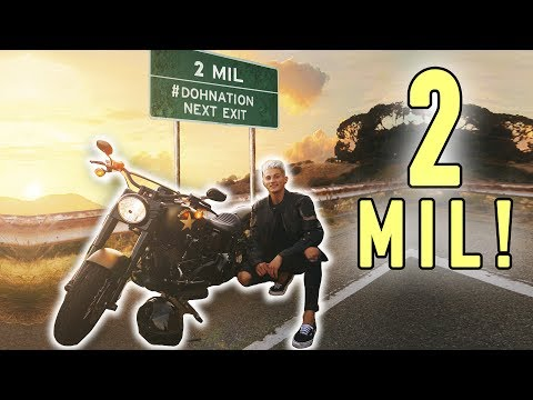 Thumbnail: BROKE MY MOTORCYCLE & HIT 2 MILLION FOLLOWERS! *celebration*