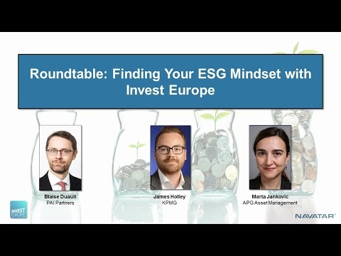 Finding Your Private Equity 'ESG Mindset' with Invest Europe