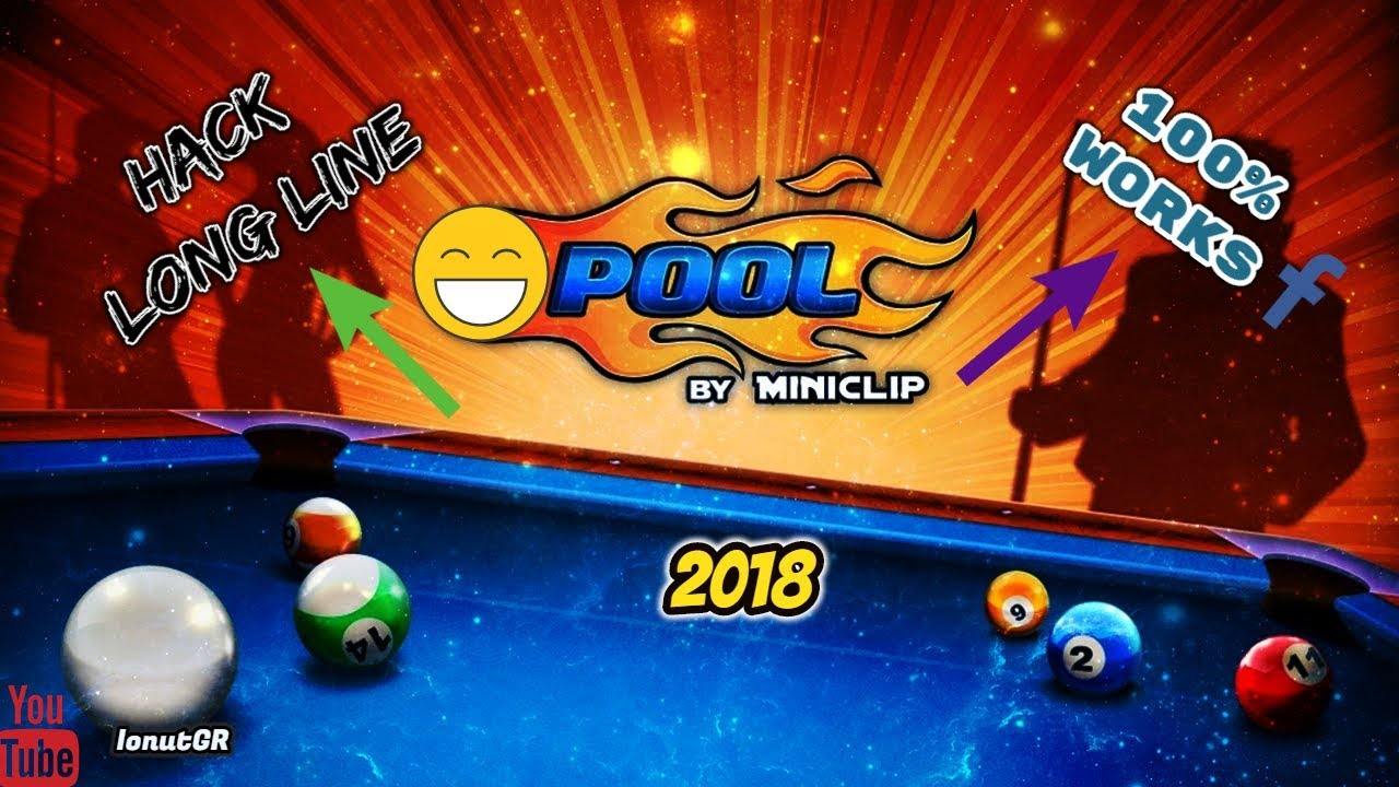 Hack 8 Ball Pool Pc Facebook 100% Works 2017 [Long Line ...