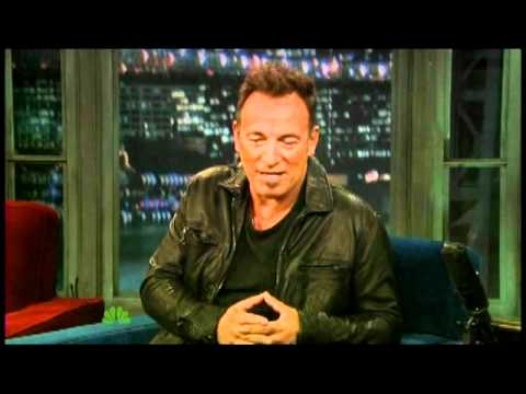 Bruce Springsteen Interview Part 1 11/16 Fallon (TheAudioPerv.com)