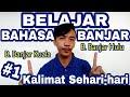 Belajar Bahasa Banjar  Kalimat Sehari Hari  Mp3 - Mp4 Download