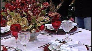 Aprenda a decorar sua mesa para o Natal