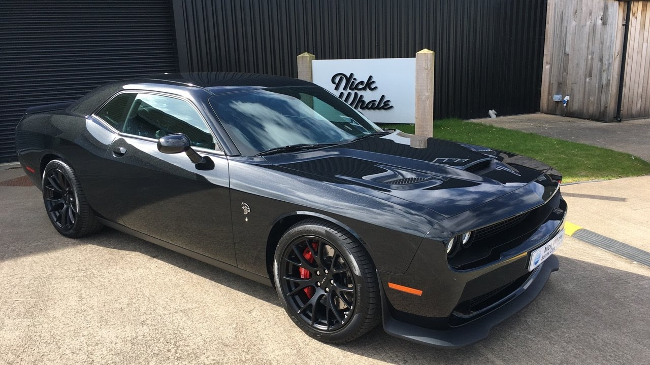 For Sale 2015 Dodge Challenger Srt Hellcat 6 2 V8 Hemi Automatic