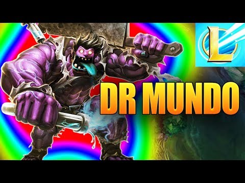 League Of Legends Wild Rift Dr Mundo Gameplay Guide (Lol Mobile)