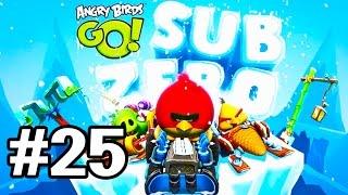 Angry Birds Go! Геймплей Прохождение Часть 25  Gameplay Walkthrough Part 25(Добро пожаловать на трассы скоростного спуска Свинского острова! Почувствуйте кайф гонки вместе с птицами..., 2015-01-25T21:03:55.000Z)