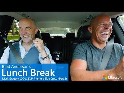 Brad Anderson's Lunch Break / s9 e7 / Mark Gregory, CIO & EVP, Premera Blue Cros...