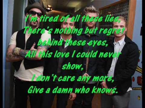 """Backstreet Boys """"Sick As My Secrets"""" With Lyrics"""