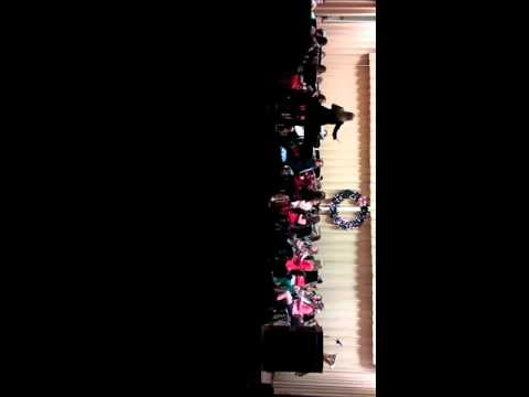 Redwater Middle School Christmas Band Concert 2015