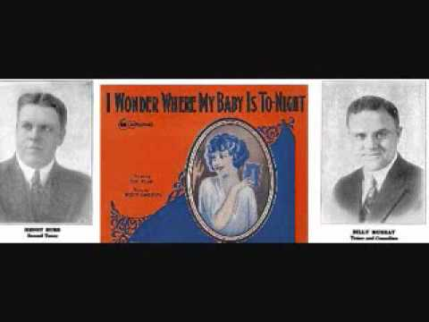 Henry Burr and Billy Murray - I Wonder Where My Baby is Tonight (1925)