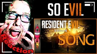 "Resident Evil 7 Biohazard SONG ""So Evil"" by Rockit Gaming REACTION!"