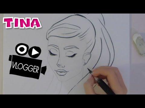 Zo Teken Je Ariana Grande Door Tina S Teken Vlogger Imke