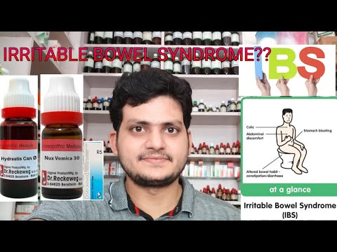 Irritable bowel syndrome! Homeopathic medicine for irritable bowel syndrome?? explain!