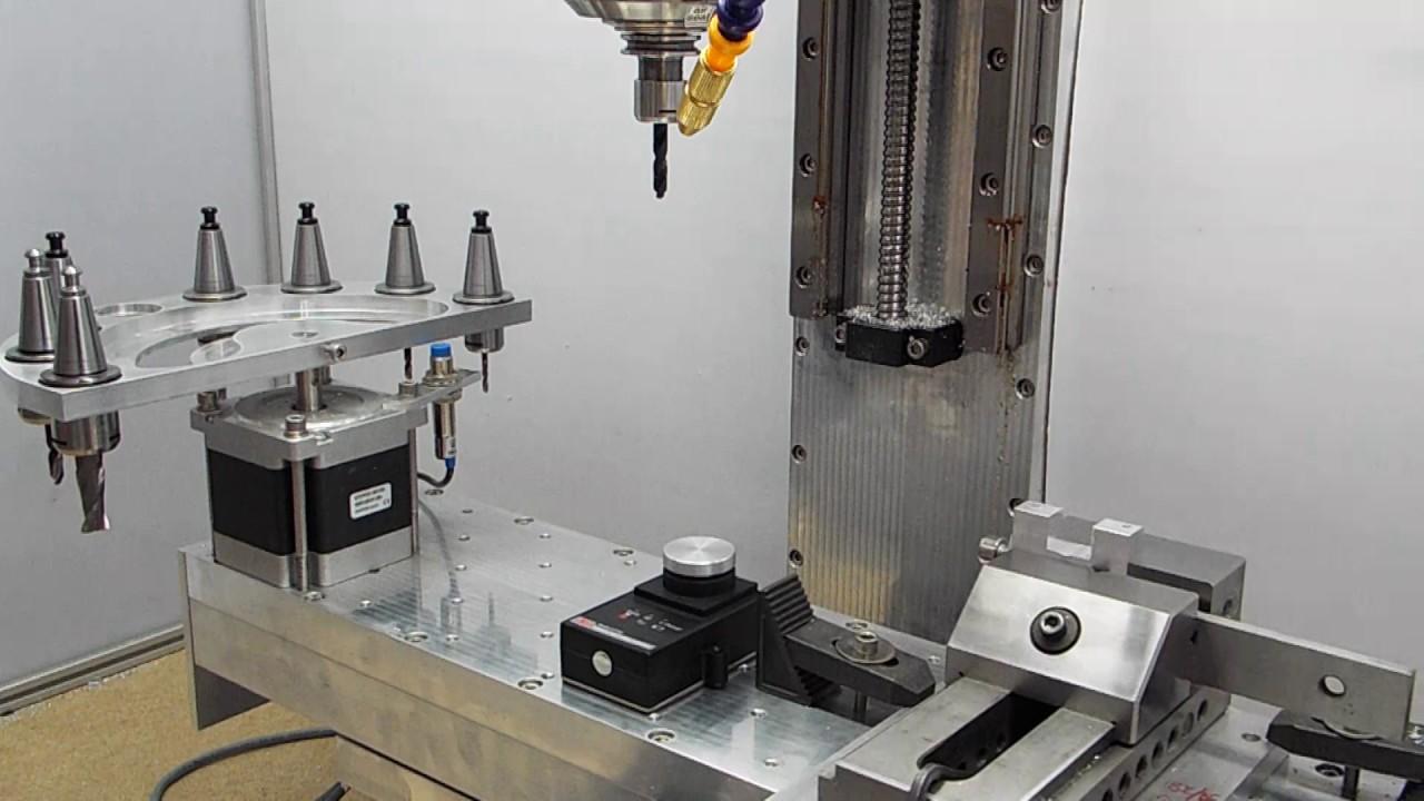 Ems800 Ems600 Tool Probing Ballscrew Auto Tool Changer